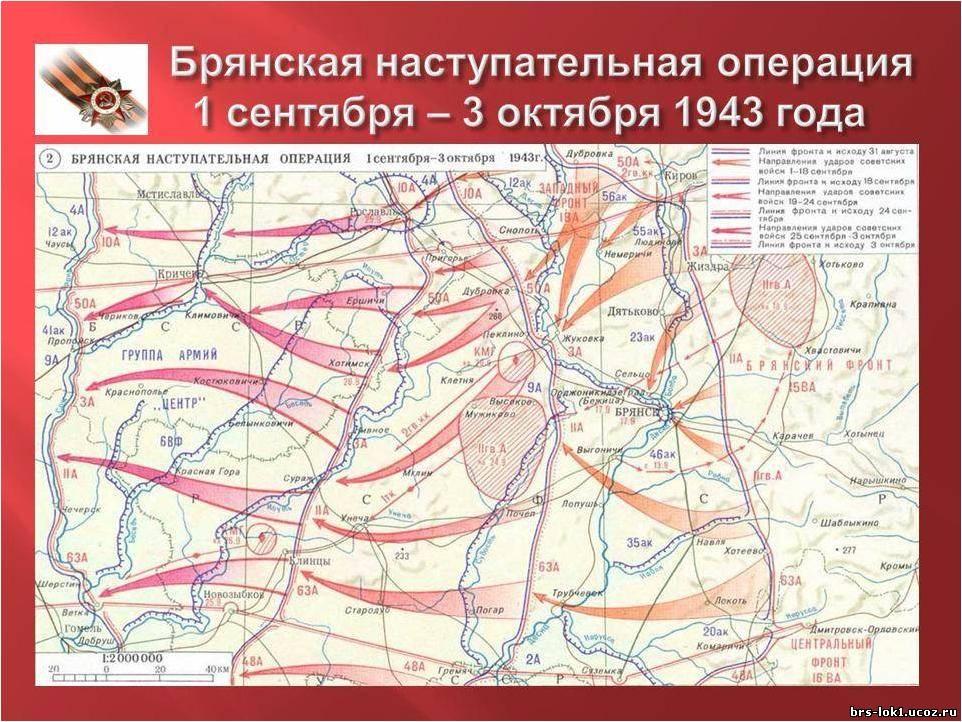 какие части русских размещались в комаричском районе орловской области в годы вов